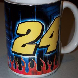 JEFF GORDON #24 SIGNATURE FLAMES COFFEE CUP S3236
